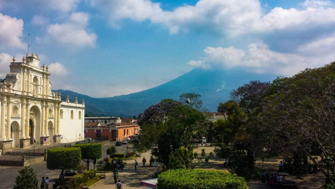 backpacking in guatemala