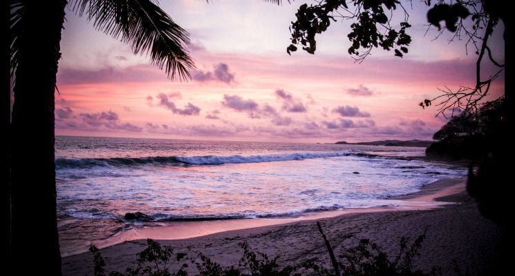 catch a sunset - things to do in nicaragua