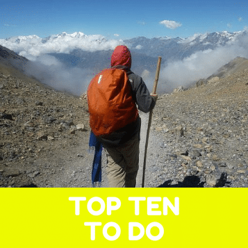 Top Ten Things To Do Before You Leave