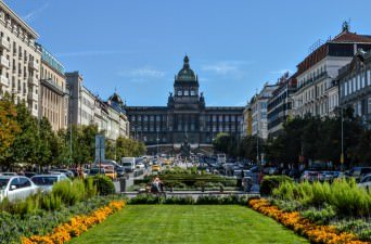 Wenceslas Square - places to see in prague