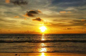 Sunset in Phuket Thailand