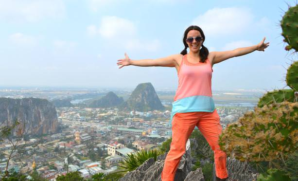 solo female backpacking in South East Asia