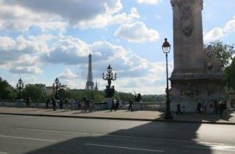 The Seine in Paris, France