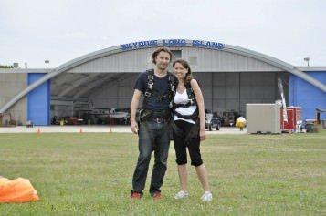 Randi & Michael Skydiving