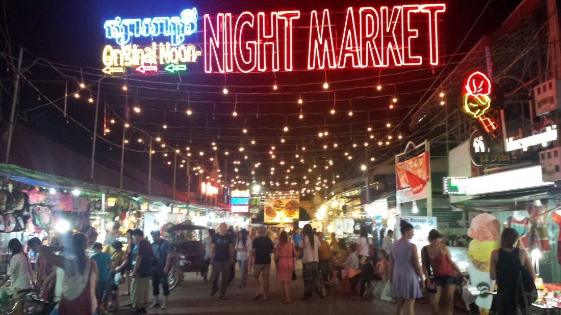 things to do in Siem Reap - Night Market, Siem Reap