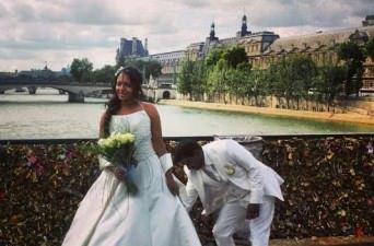 Pont des Arts Bridge in Paris, France