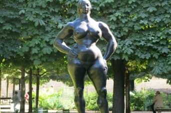 Tuileries Garden in Paris, France