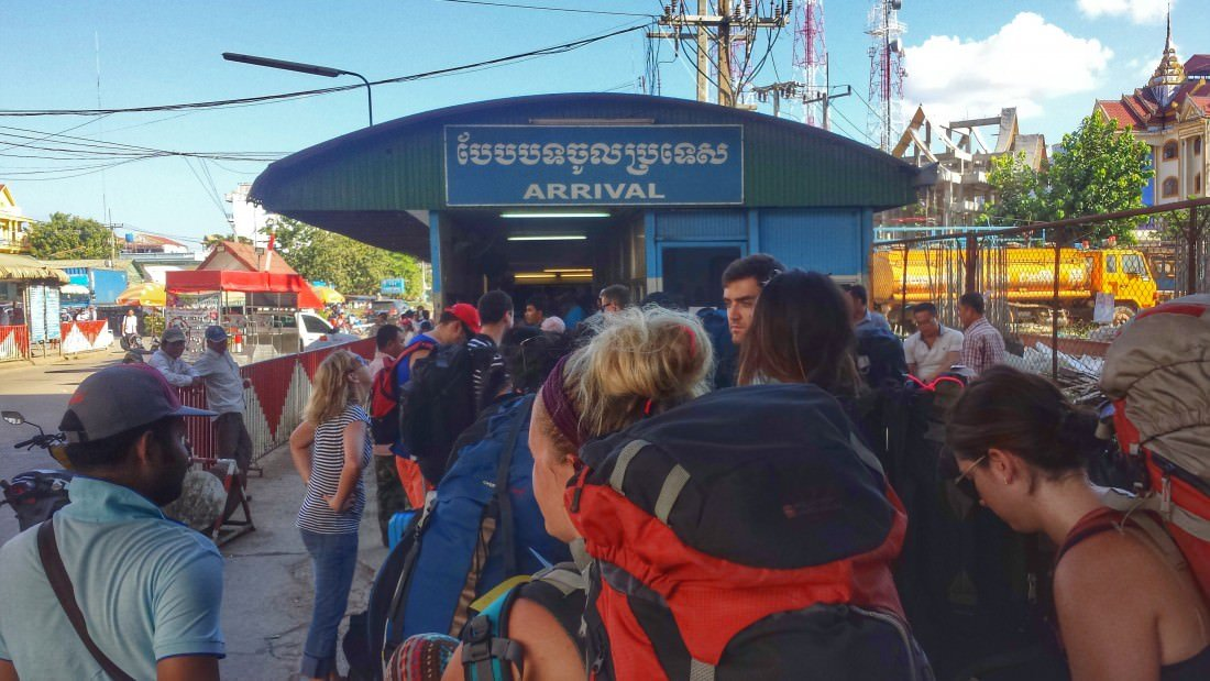 Avoiding scams while crossing the border from Thailand to Cambodia