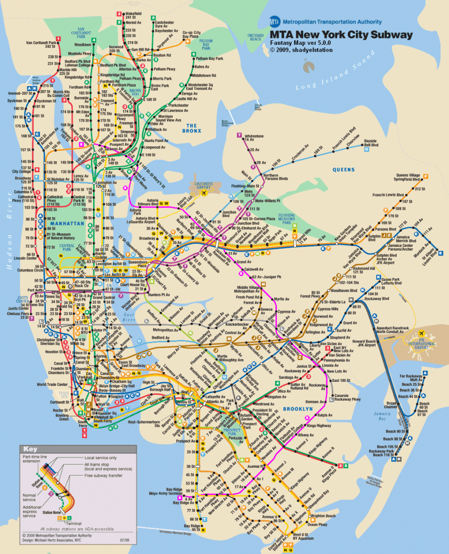 Tips for Riding the New York City Subway System Just a Pack – Map New York City Subway