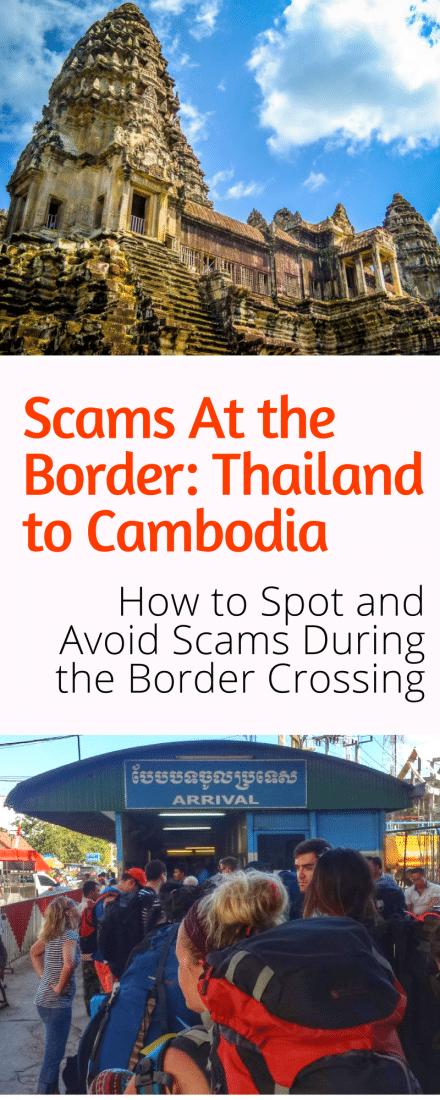 border scams thailand cambodia