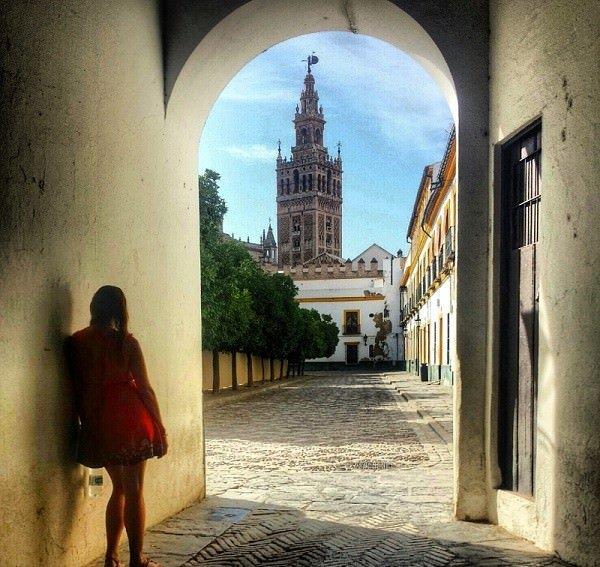 Real Alcazar in Sevilla, Andalucia, Spain