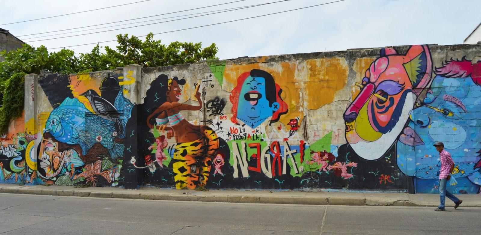 Cartagena Street Art, Colombia