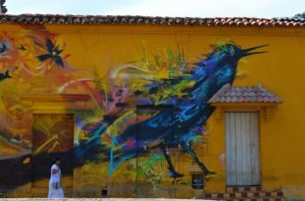Cartagena Street Art, Colombia