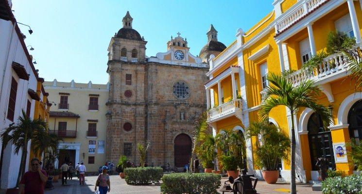San Pedro Claver Cathederal, Cartagena