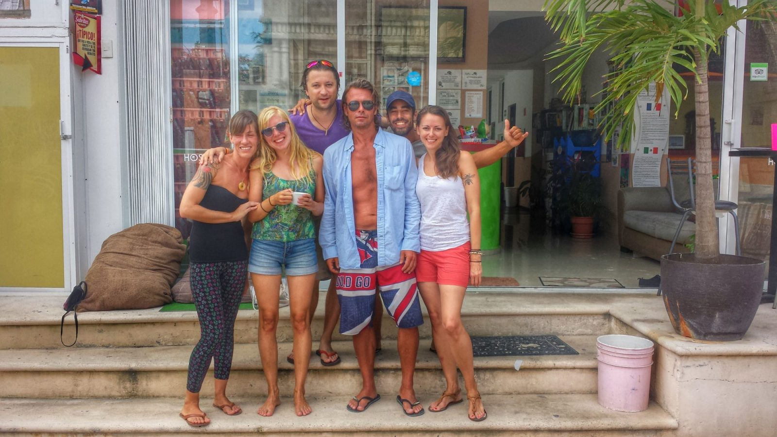 best hostels in Playa del Carmen Mexico