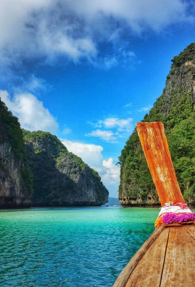 exploring Phi Phi Thailand