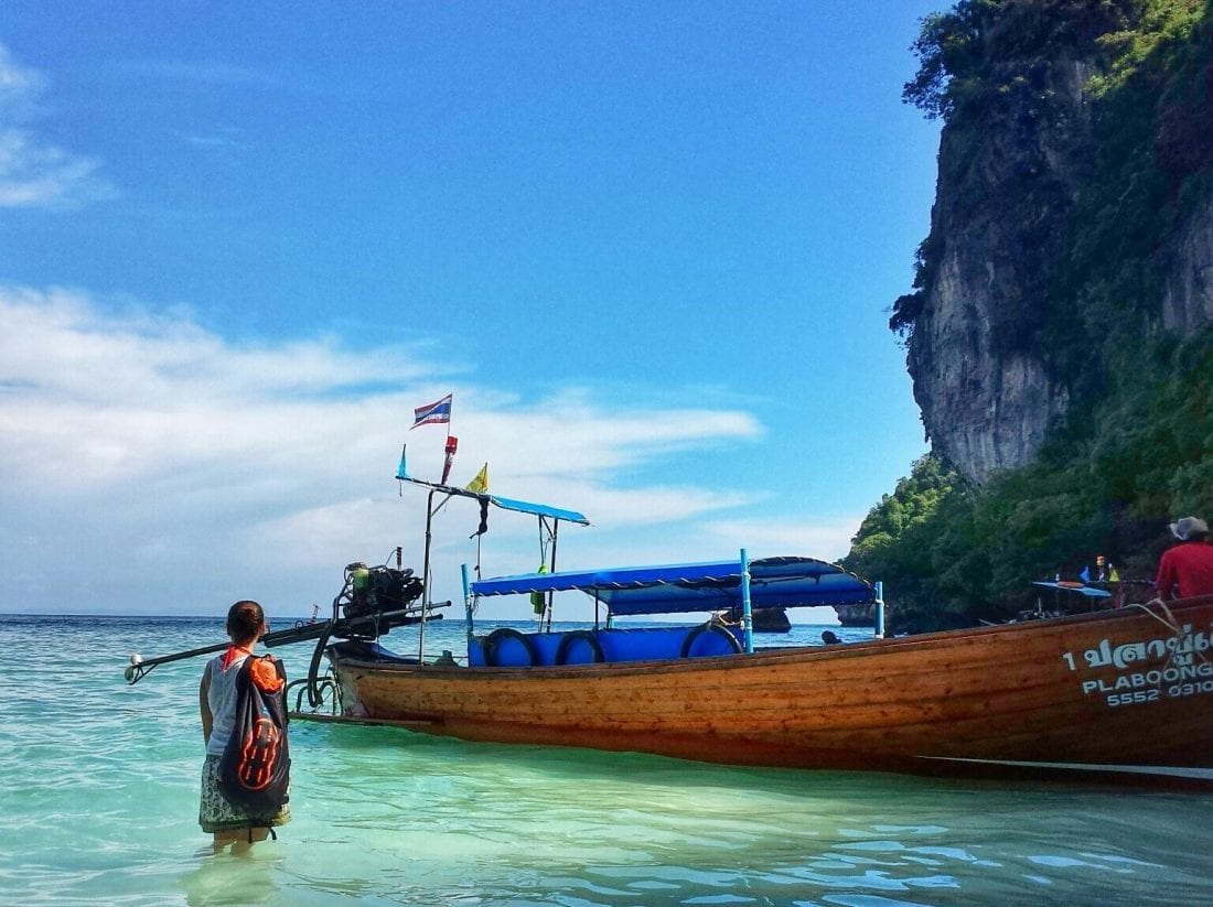 how tourism is killing Phi Phi Island in Thailand