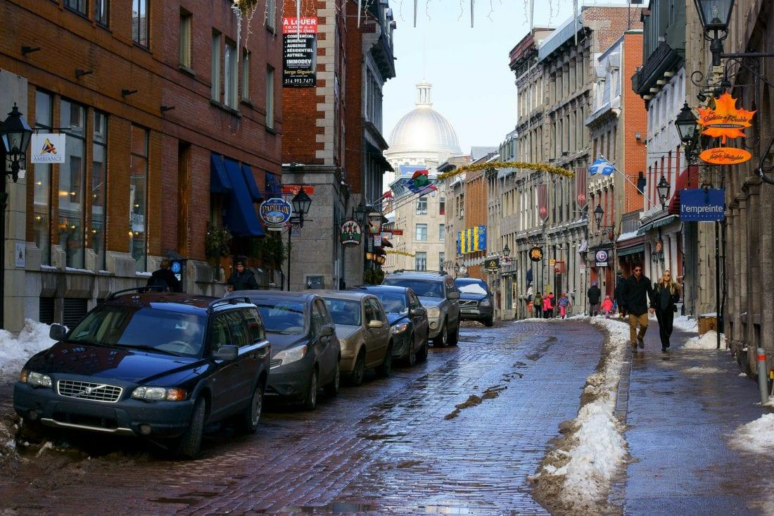 St Paul Street Montreal