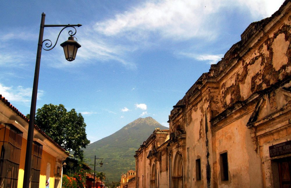 Colonial Antigua Guatemala on a backpacking budget