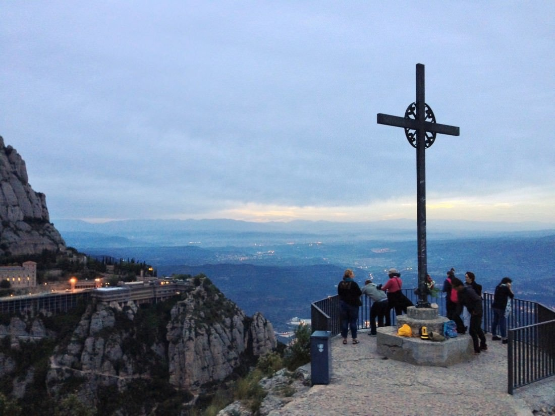 St. Michael's Cross Montserrat Barcelona, Spain