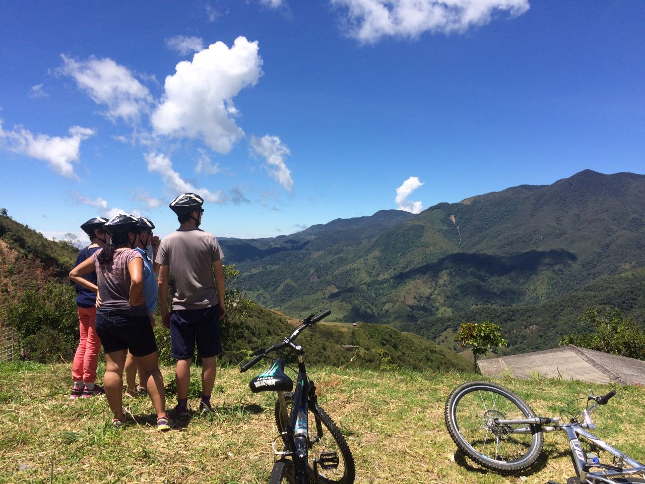 Guatape bike tour of San Rafael Colombia