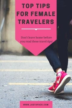 Top Tips for Female Travelers
