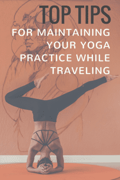 Yoga tips for travelers