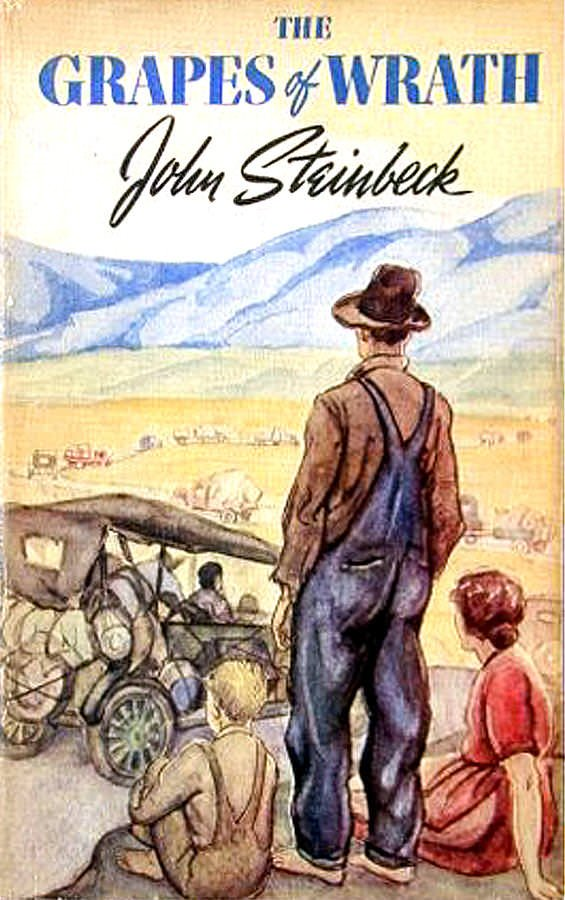 symbolism in the novel the grapes of wrath by john steinbeck