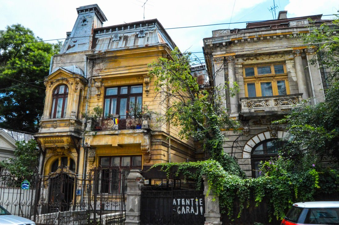 Incredible architecture of Bucharest, Romania