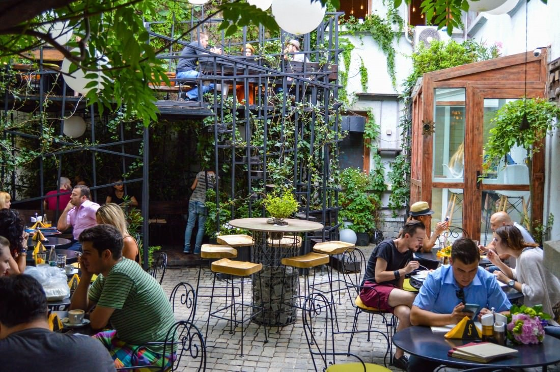 things to do in Bucharest - explore hidden gardens