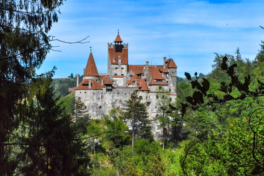 Bran Castle in Transylvania, Romania.