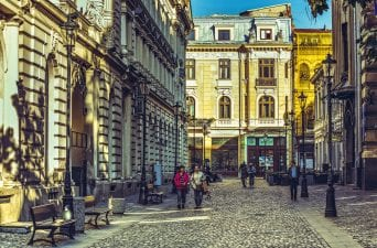 Old Town Square Bucharest