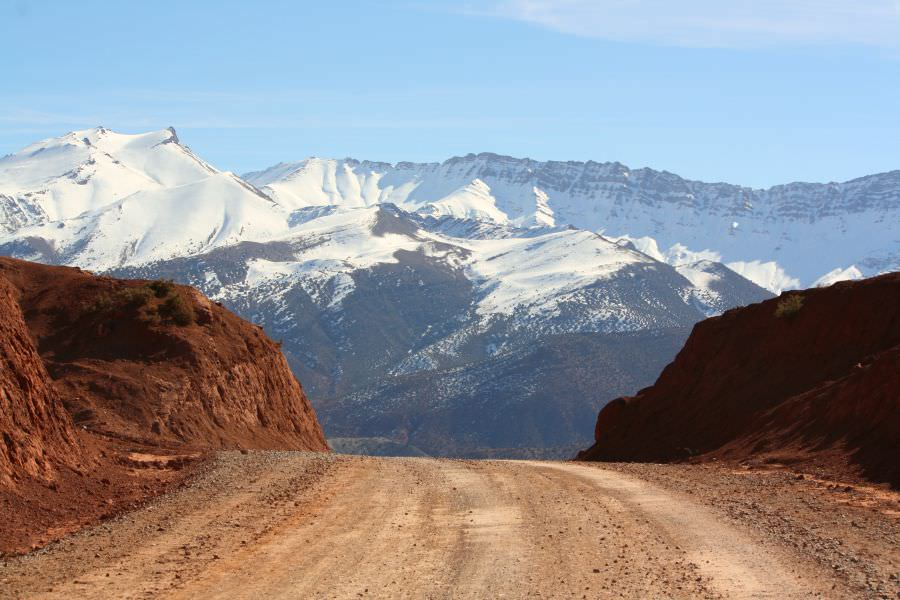Landscapes in Morocco, Ait Bougmez Valley