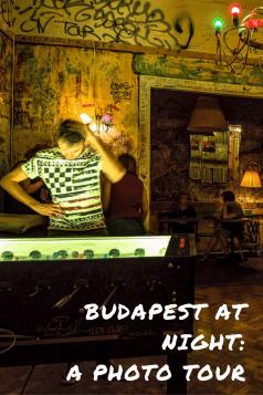 Photos of Budapest nightlife