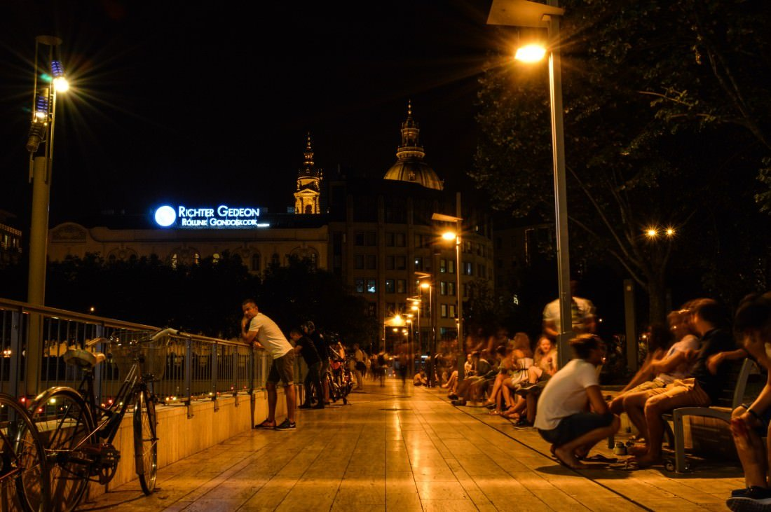 Erzsébet Square Budapest