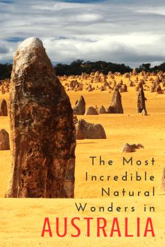top natural wonders of australia