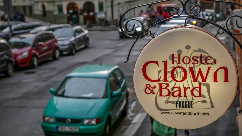 Clown and Bard hostel, party hostel in Prague
