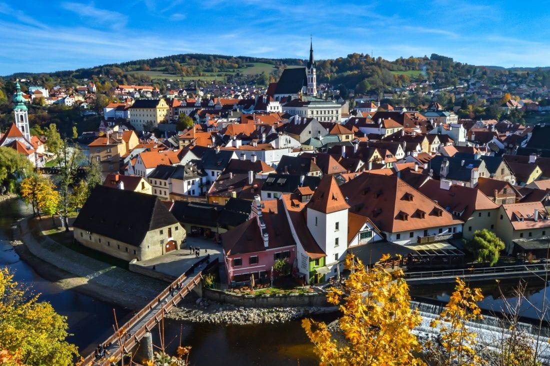 Cesky Krumlov, day trips from Prague, Czech Republic