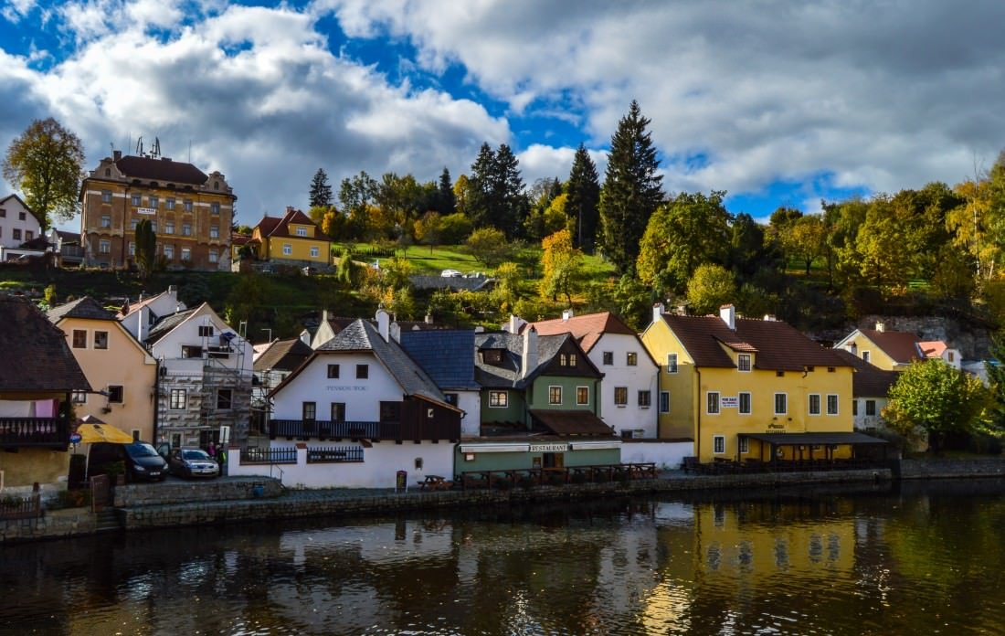 Cesky Krumlov in the Czech Republic