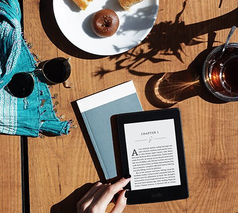 Amazon Kindle, great gifts for travelers