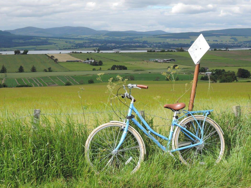 Cycling on the Black Isle - Karen Thorburn