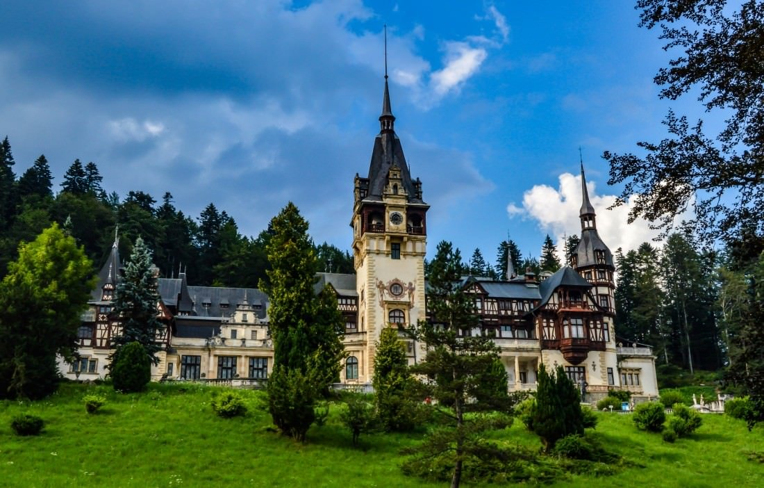 peles castle romania top travel destinations 2016