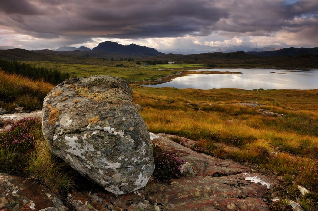 Loch Tournaig, Wester Ross - Scottish Landscape