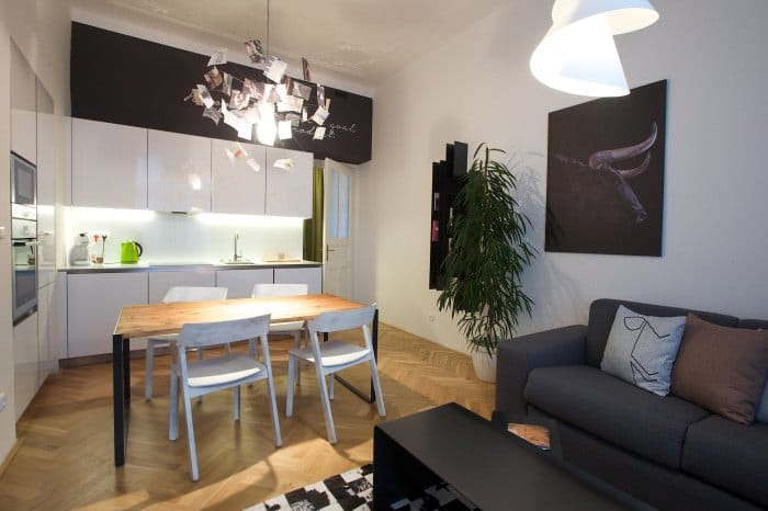The best holiday apartments in prague just a pack for Designer apartment prague