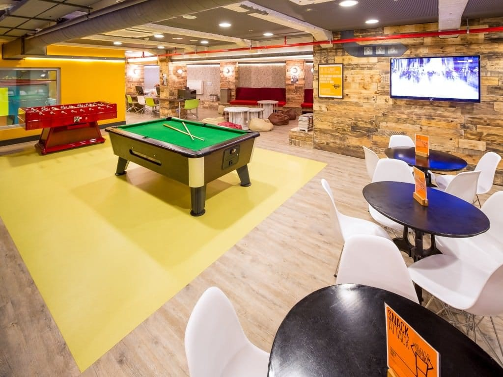 common area best hostels in Barcelona