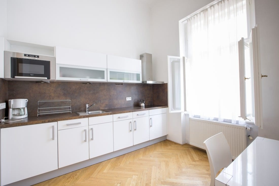 Sophie's Hostel, apartment no. 3B, fully equipped kitchen