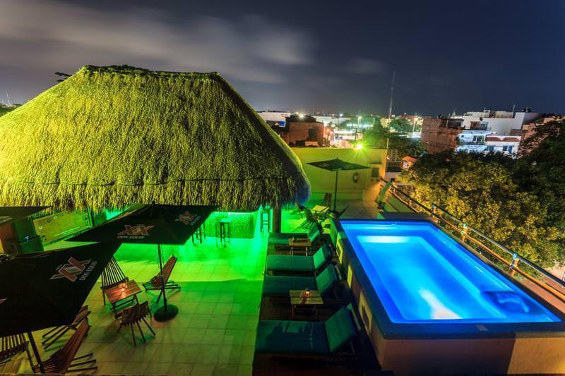 Best flashpacker hostel in Playa del Carmen