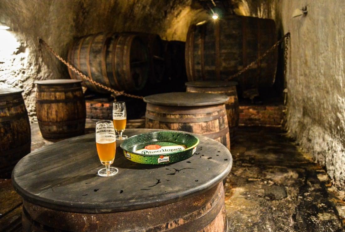 Pilsner Urquell Brewery tour, Plzen Czech Republic