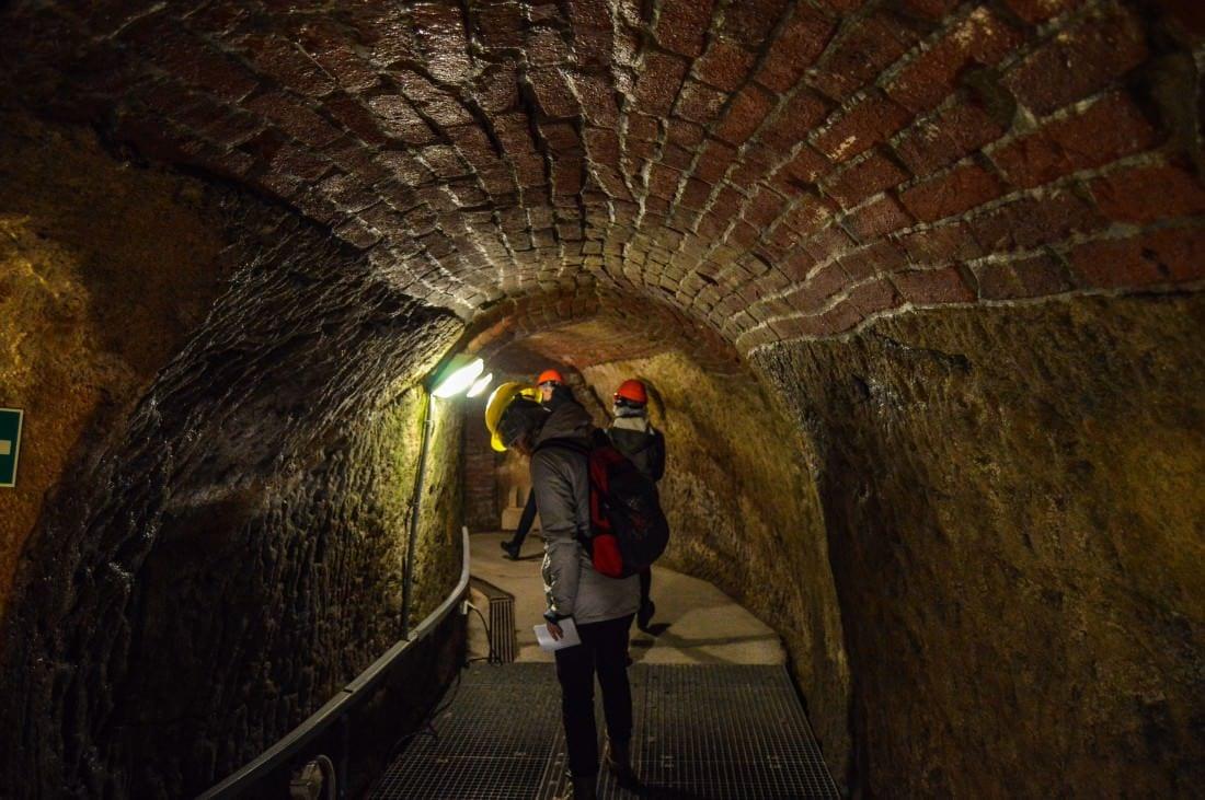 Pilsen Czech Republic Underground tour