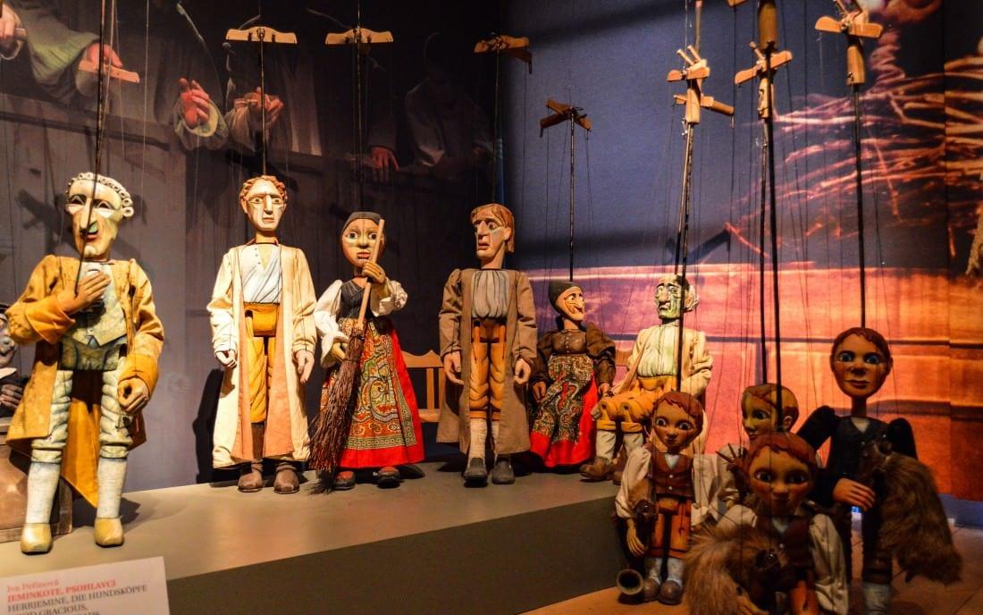 Puppet Museum in Pilsen Czech Republic
